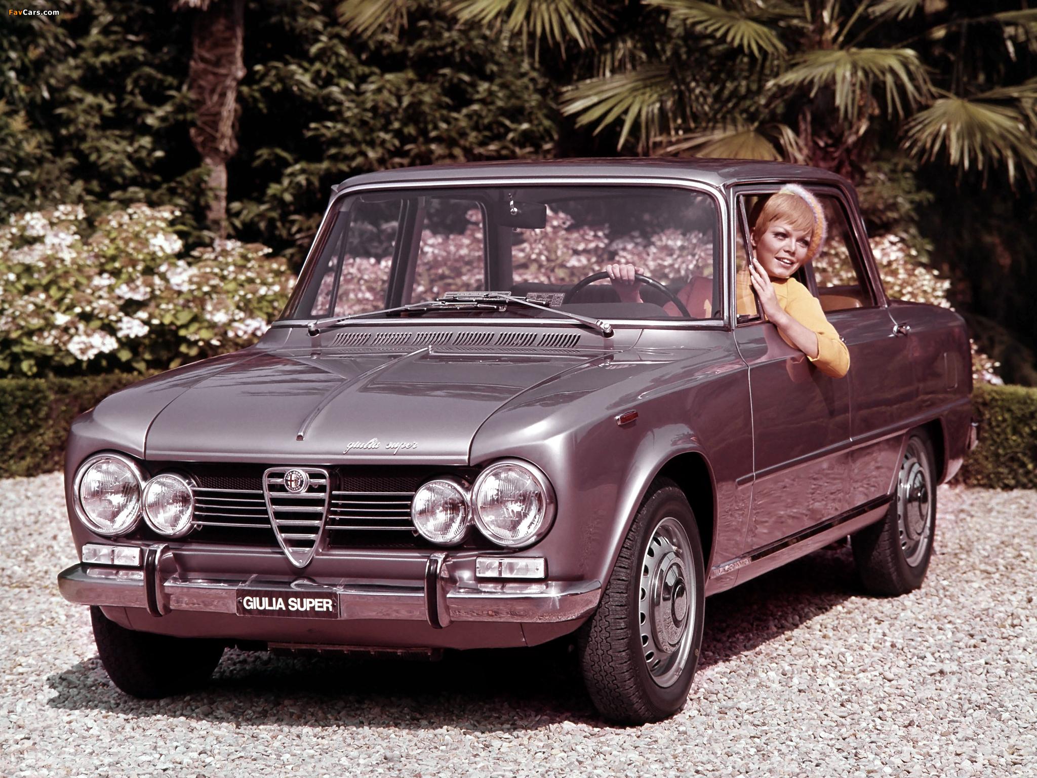 Photos of Alfa Romeo Giulia Super 105 (1967–1974) (2048x1536)