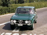 Photos of Alfa Romeo Giulia Super Diesel 115 (1976–1977)
