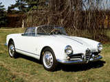 Alfa Romeo Giulietta Spider Prototipo 750 (1955) photos