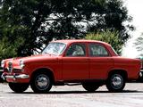 Alfa Romeo Giulietta Berlina 750 (1955–1959) pictures