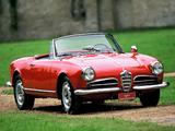 Alfa Romeo Giulietta Spider 750/101 (1956–1962) images