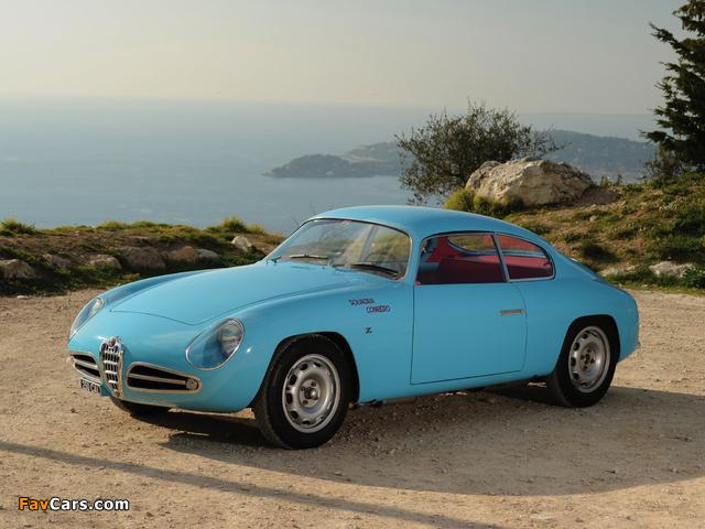 Alfa Romeo Giulietta SVZ 750 (1956–1958) photos (640 x 480)
