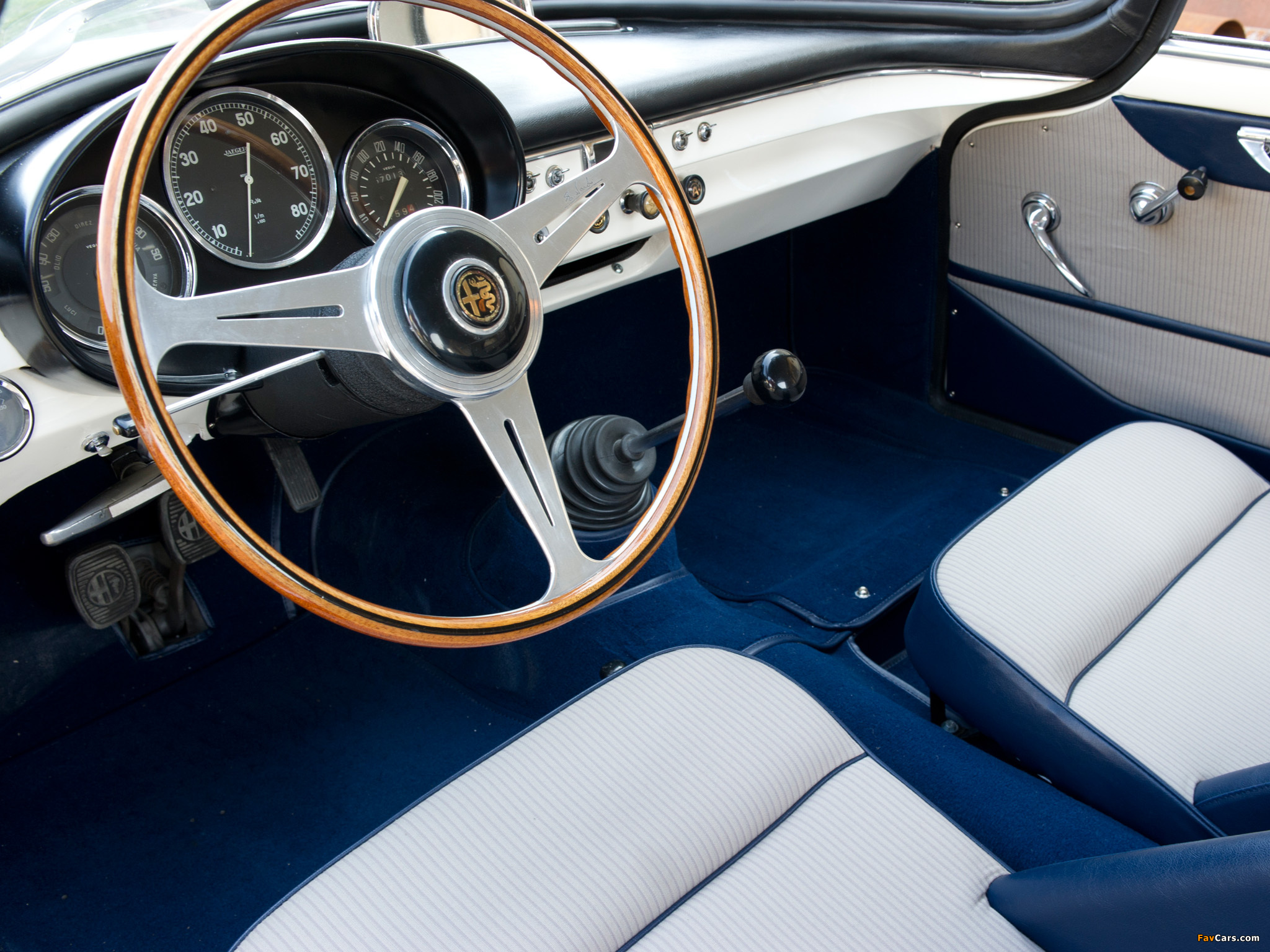 Alfa Romeo Giulietta Sprint Speciale 101 (1958–1960) photos (2048 x 1536)