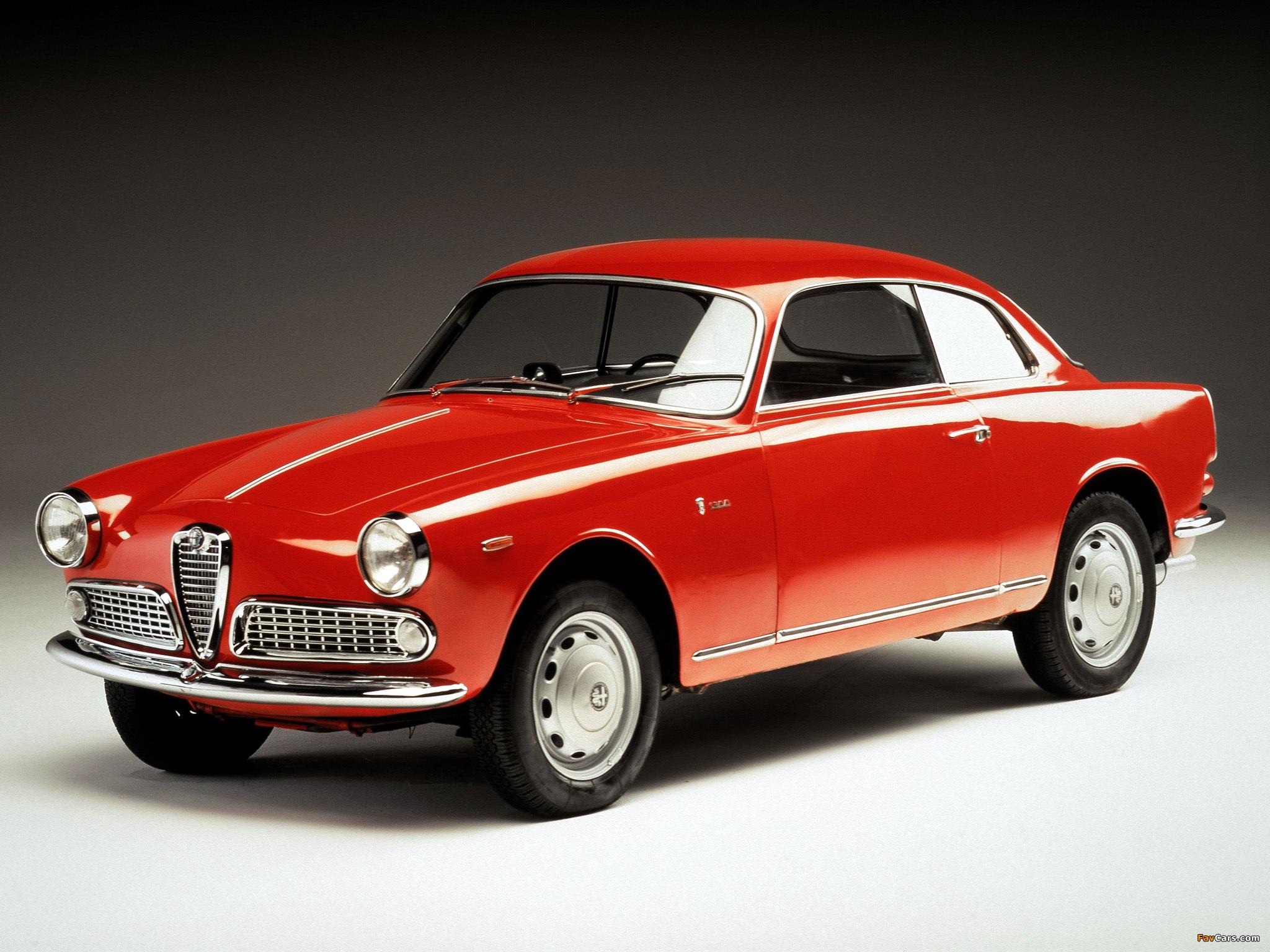 Alfa Romeo Giulietta Sprint 750/101 (1958–1962) photos (2048 x 1536)