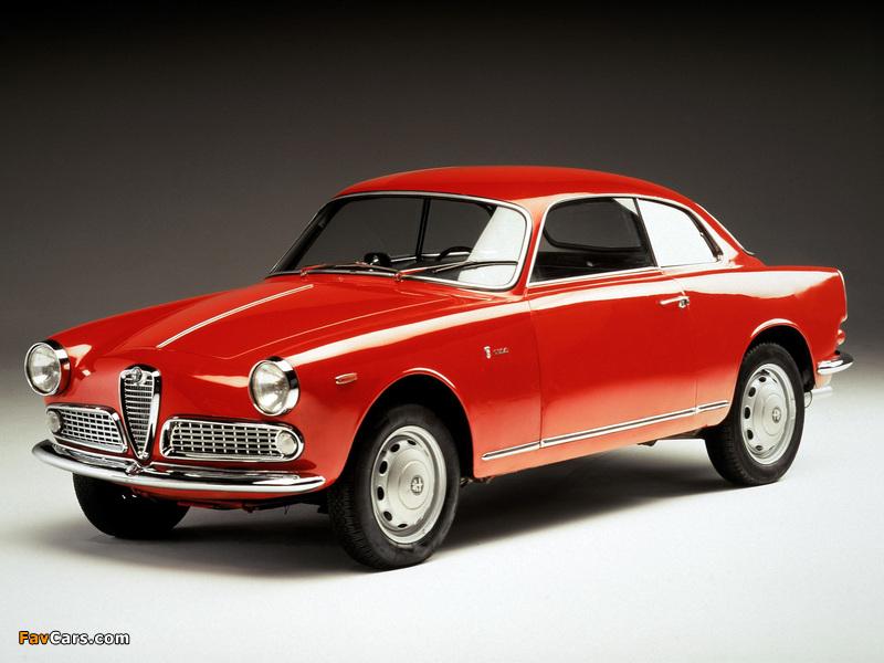 Alfa Romeo Giulietta Sprint 750/101 (1958–1962) photos (800 x 600)