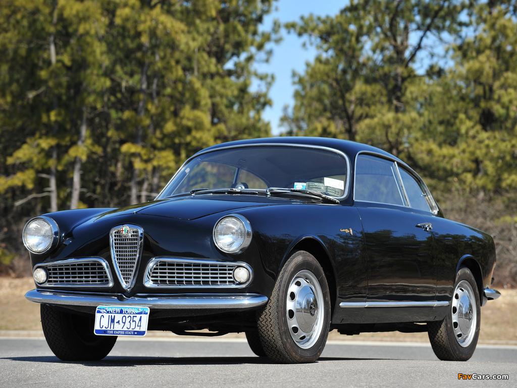 Alfa Romeo Giulietta Sprint 750/101 (1958–1962) pictures (1024 x 768)