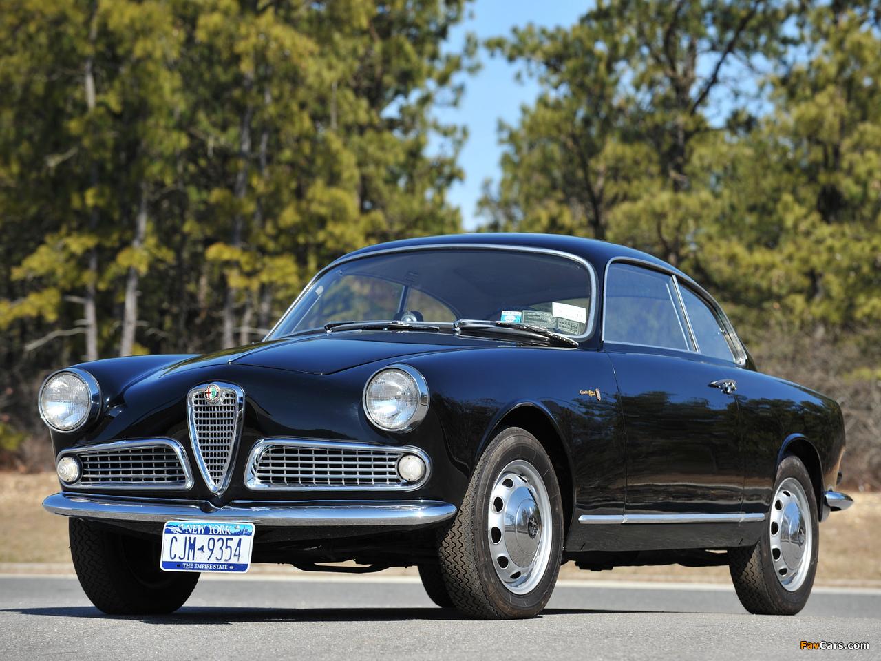 Alfa Romeo Giulietta Sprint 750/101 (1958–1962) pictures (1280 x 960)