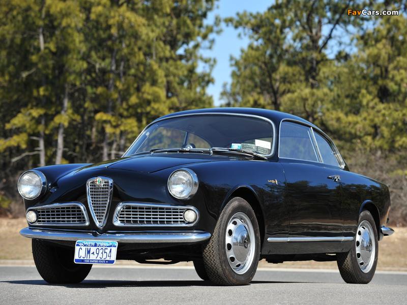 Alfa Romeo Giulietta Sprint 750/101 (1958–1962) pictures (800 x 600)