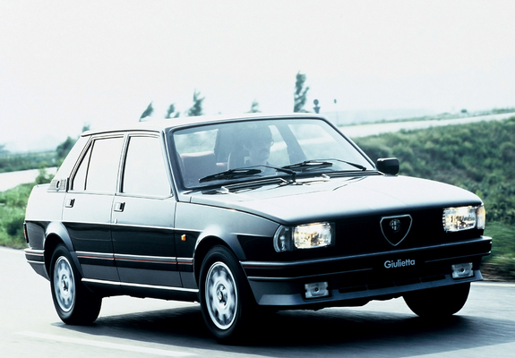 alfa romeo giulietta 2 0 turbodelta 116 1983 1985 pictures. Black Bedroom Furniture Sets. Home Design Ideas