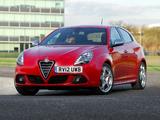 Alfa Romeo Giulietta UK-spec 940 (2010) photos