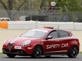 Alfa Romeo Giulietta Quadrifoglio Verde SBK Safety Car 940 (2010) pictures