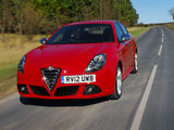 Alfa Romeo Giulietta UK-spec (940) 2010–14 wallpapers