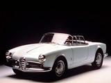 Alfa Romeo Giulietta Spider Prototipo 750 (1955) pictures