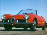 Alfa Romeo Giulietta Spider 750/101 (1956–1962) photos