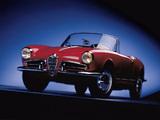 Alfa Romeo Giulietta Spider 750/101 (1956–1962) pictures