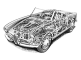 Alfa Romeo Giulietta Spider 750/101 (1956–1962) wallpapers