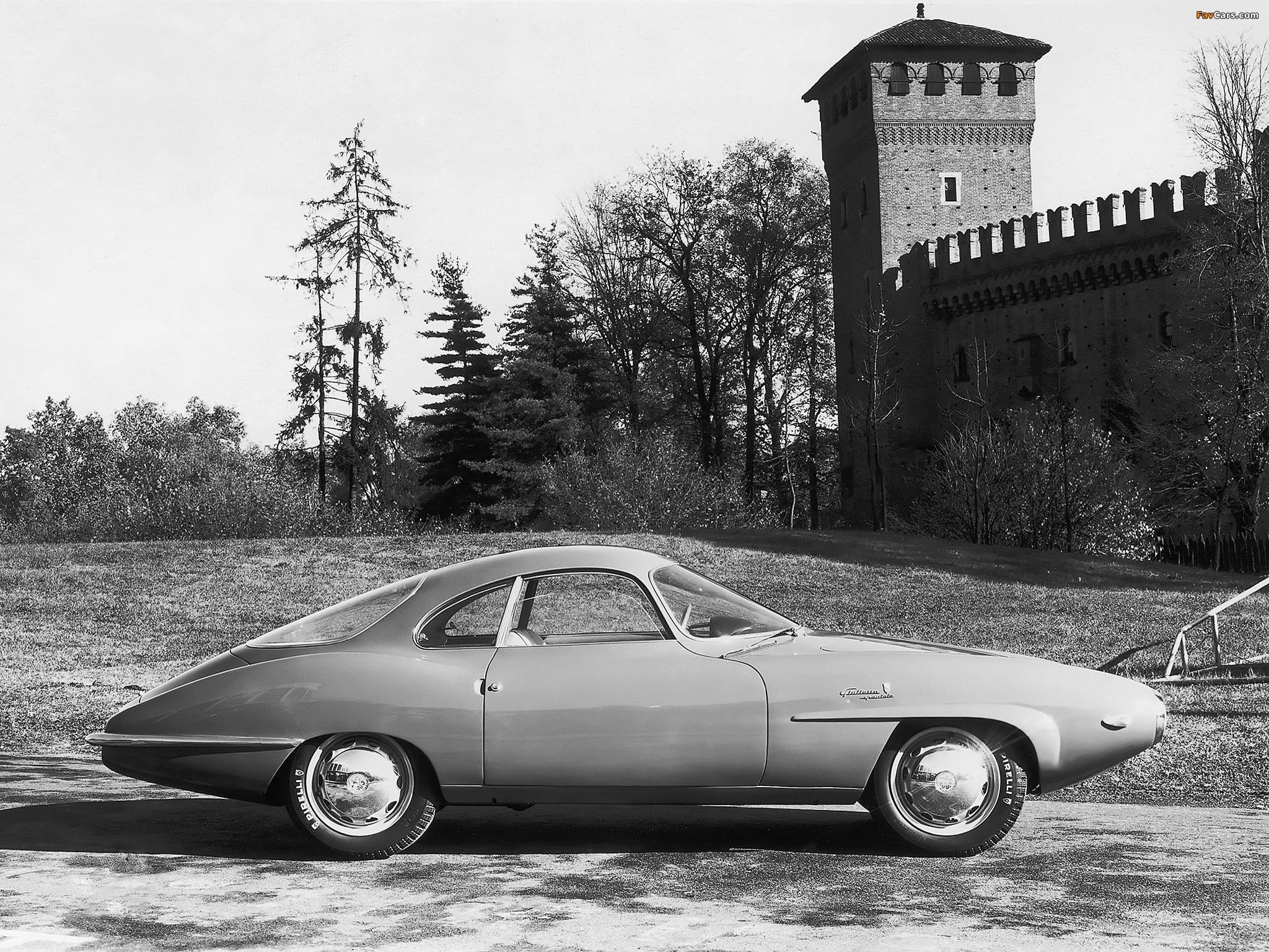 Alfa Romeo Giulietta Sprint Speciale Prototipo 750 (1957) pictures (2048 x 1536)