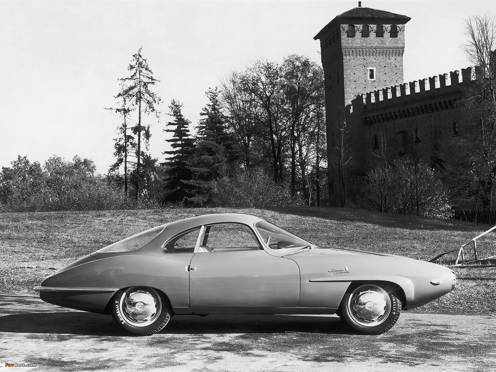Alfa Romeo Giulietta Sprint Speciale Prototipo 750 (1957) pictures (1600 x 1200)