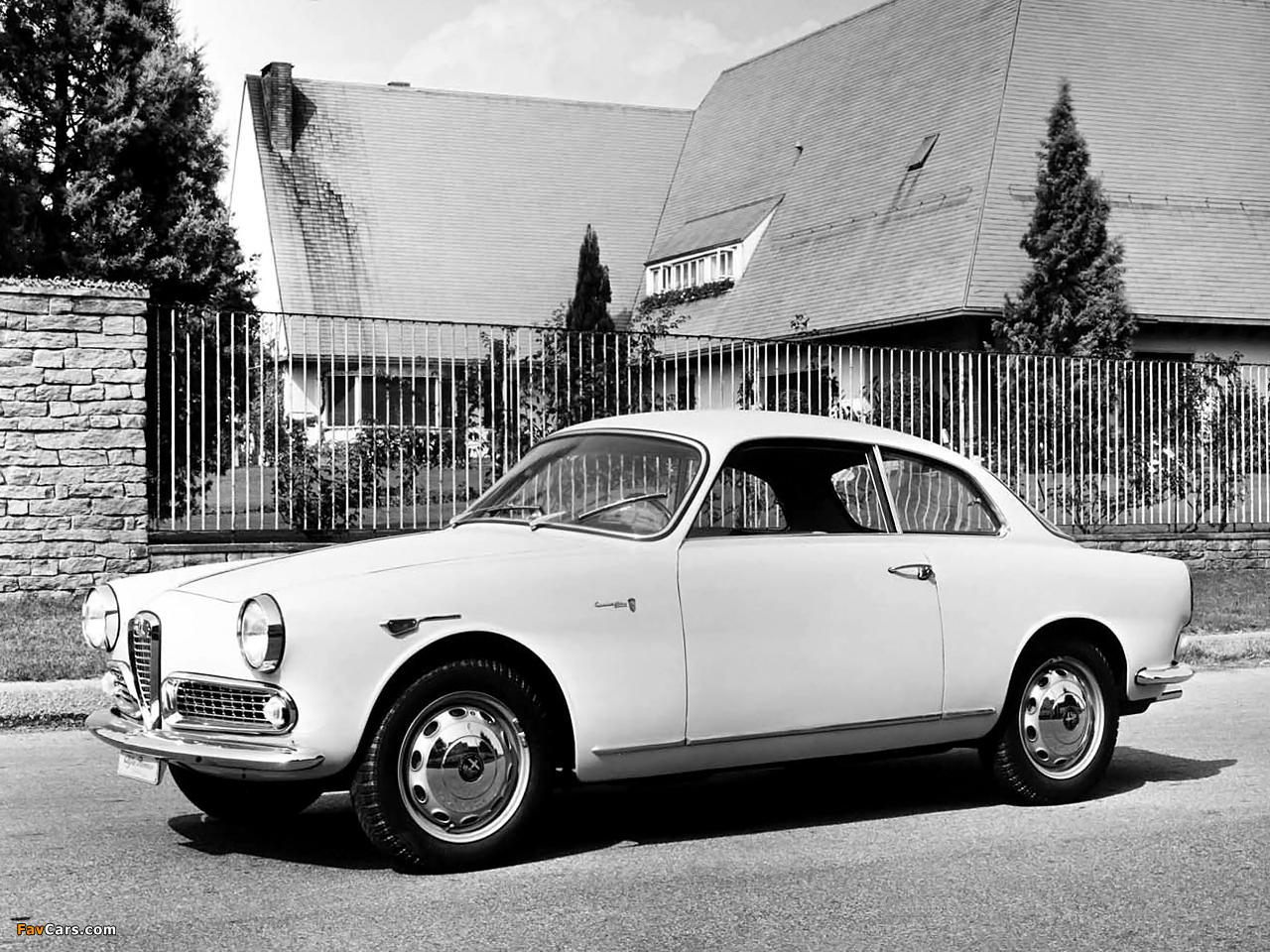 Alfa Romeo Giulietta Sprint 750/101 (1958–1962) images (1280 x 960)