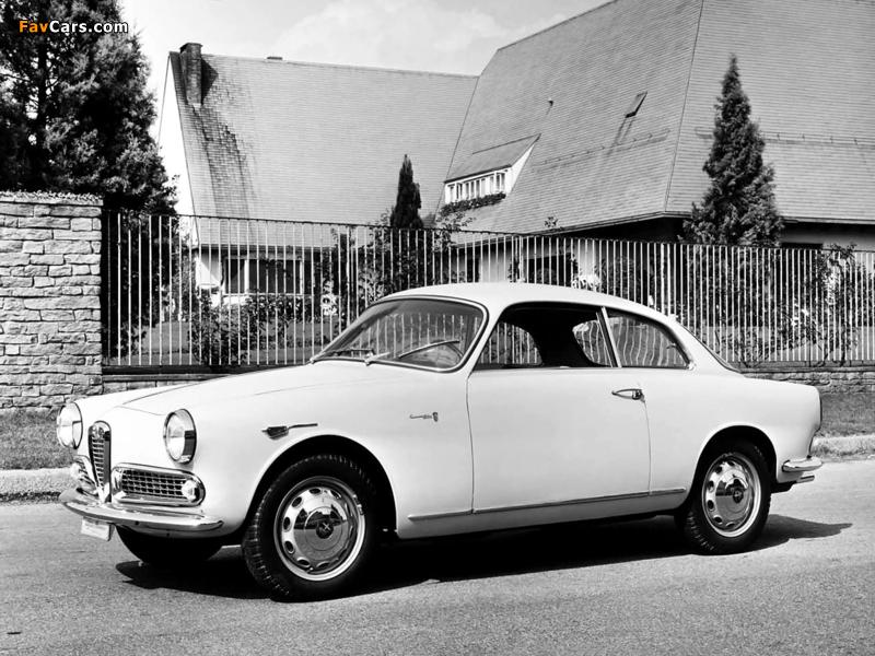 Alfa Romeo Giulietta Sprint 750/101 (1958–1962) images (800 x 600)