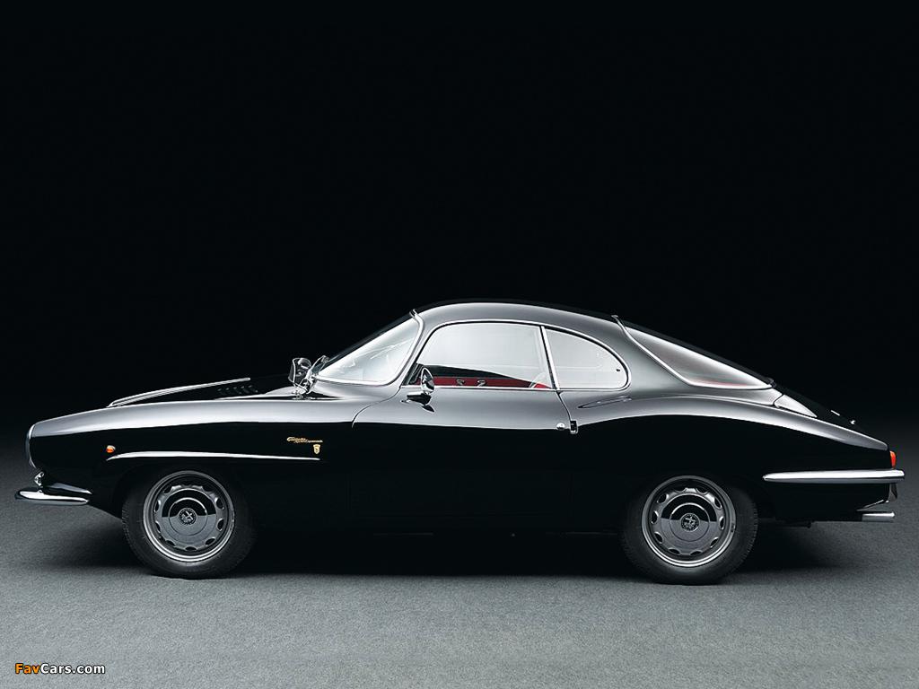 Alfa Romeo Giulietta Sprint Speciale 101 (1960–1962) pictures (1024 x 768)