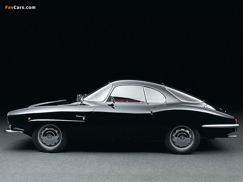 Alfa Romeo Giulietta Sprint Speciale 101 (1960–1962) pictures (800 x 600)