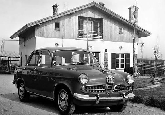 Images Of Alfa Romeo Giulietta Berlina 750 19551959