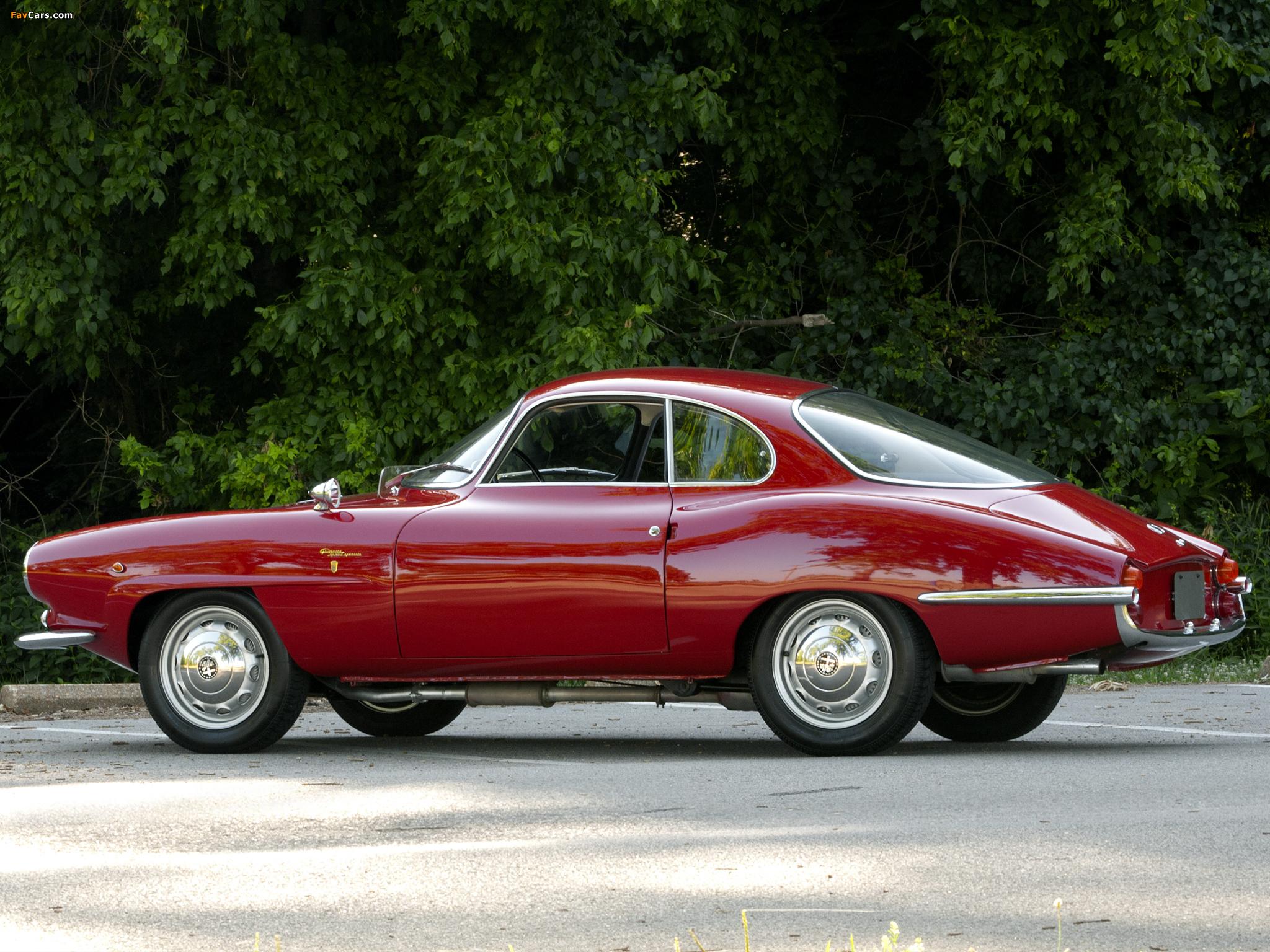 Alfa Romeo Giulietta >> Images of Alfa Romeo Giulietta Sprint Speciale 101 (1960–1962) (2048x1536)