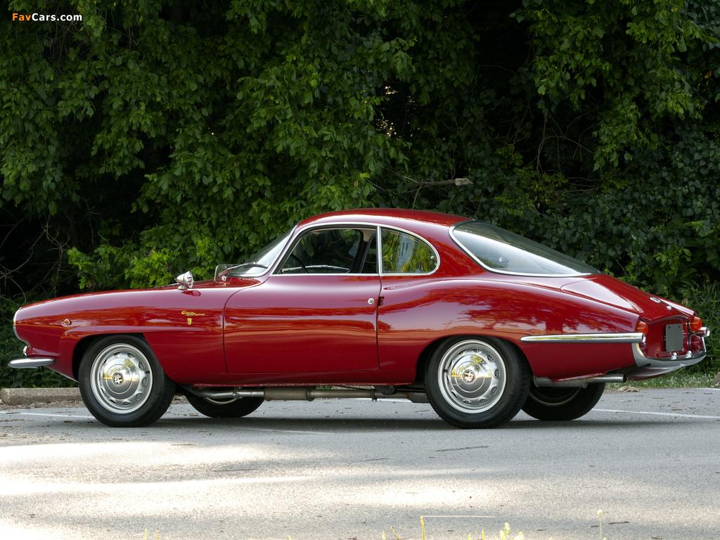 Images of Alfa Romeo Giulietta Sprint Speciale 101 (1960–1962) (1024 x 768)