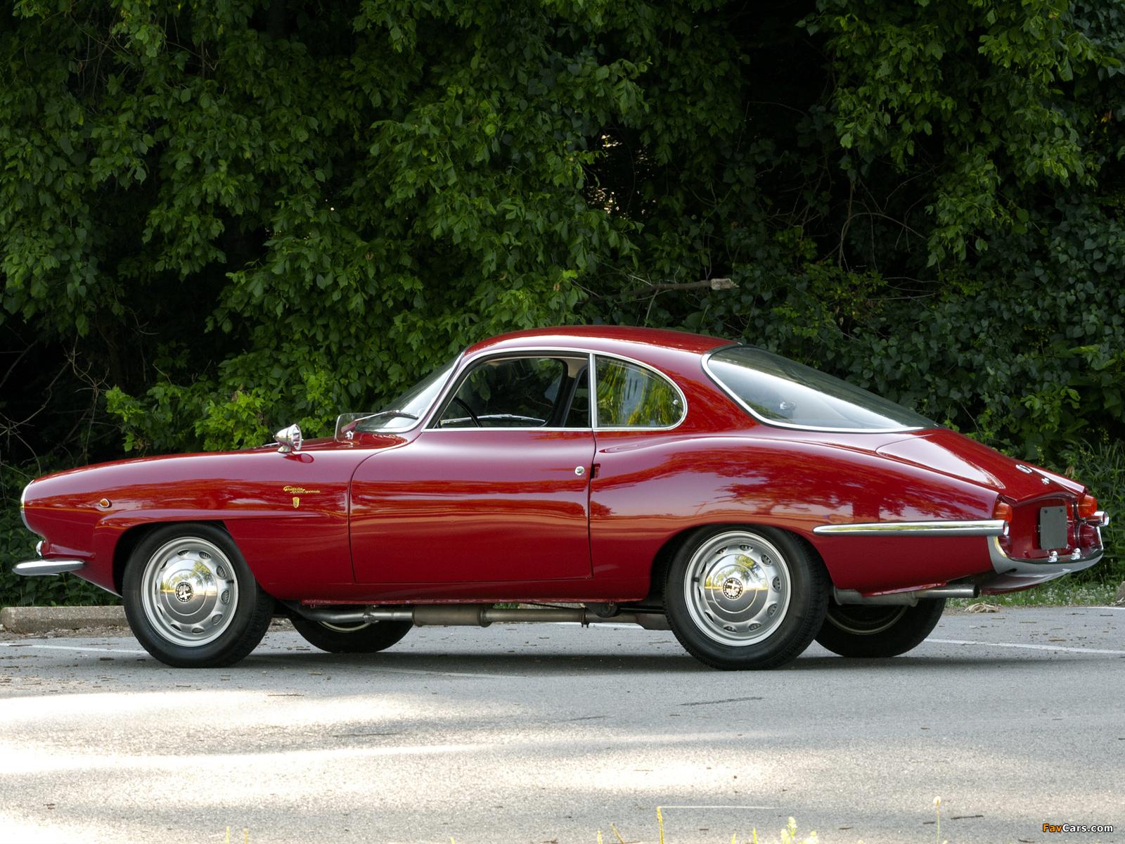 Images of Alfa Romeo Giulietta Sprint Speciale 101 (1960–1962) (1600 x 1200)