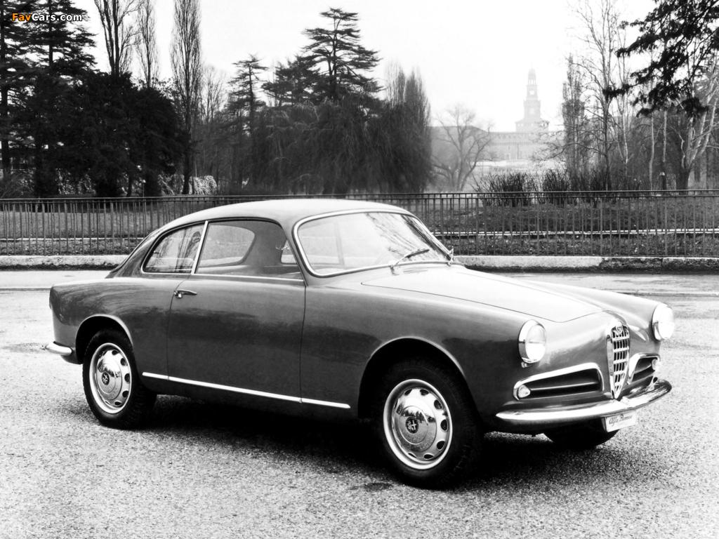 Images of Alfa Romeo Giulietta Sprint 750 (1954–1958) (1024 x 768)