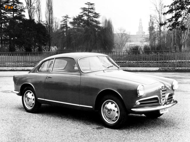 Images of Alfa Romeo Giulietta Sprint 750 (1954–1958) (640 x 480)