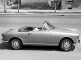 Photos of Alfa Romeo Giulietta Sprint Cabriolet 750 (1956)