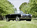 Photos of Alfa Romeo Giulietta Spider 750/101 (1956–1962)