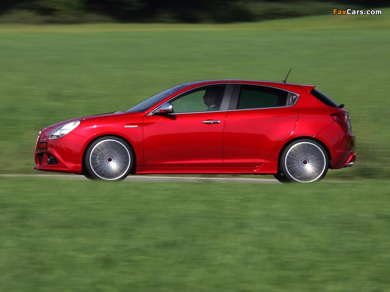 Photos of Novitec Alfa Romeo Giulietta 940 (2011) (800 x 600)