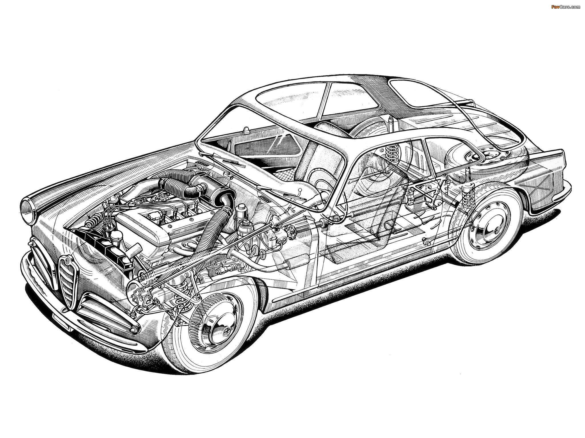 Photos of Alfa Romeo Giulietta Sprint 750 (1954–1958) (2048 x 1536)