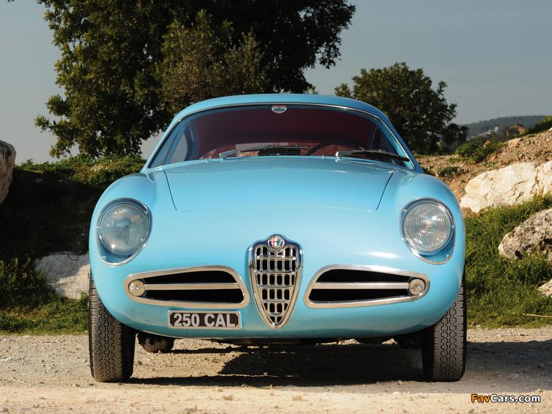 Pictures of Alfa Romeo Giulietta SVZ 750 (1956–1958) (800 x 600)