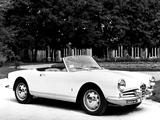 Pictures of Alfa Romeo Giulietta Spider 750/101 (1956–1962)