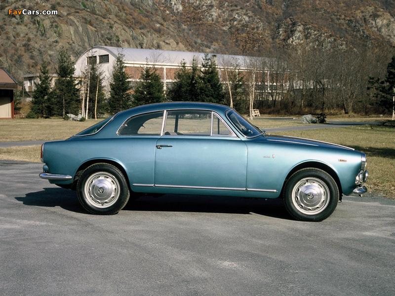Pictures of Alfa Romeo Giulietta Sprint 750/101 (1958–1962) (800 x 600)
