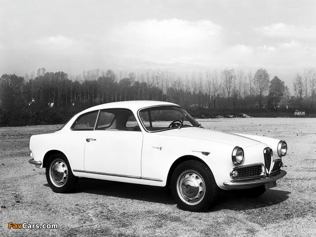 Pictures of Alfa Romeo Giulietta Sprint 750/101 (1958–1962) (640 x 480)
