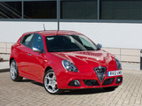 Pictures of Alfa Romeo Giulietta UK-spec (940) 2010–14