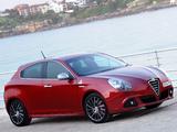 Pictures of Alfa Romeo Giulietta Quadrifoglio Verde AU-spec 940 (2011)