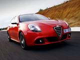 Pictures of Alfa Romeo Giulietta Quadrifoglio Verde ZA-spec 940 (2011)