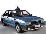Pictures of Alfa Romeo Giulietta Polizia 116 (1983–1985)
