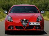 Alfa Romeo Giulietta Quadrifoglio Verde 940 (2010) wallpapers