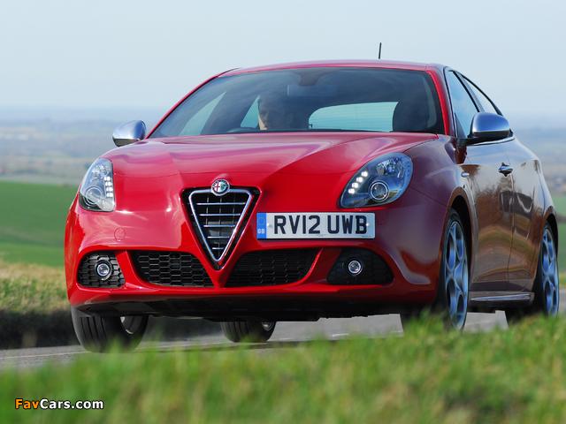 Alfa Romeo Giulietta UK-spec (940) 2010–14 wallpapers (640 x 480)