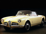 Alfa Romeo Giulietta Spider Prototipo 750 (1955) wallpapers