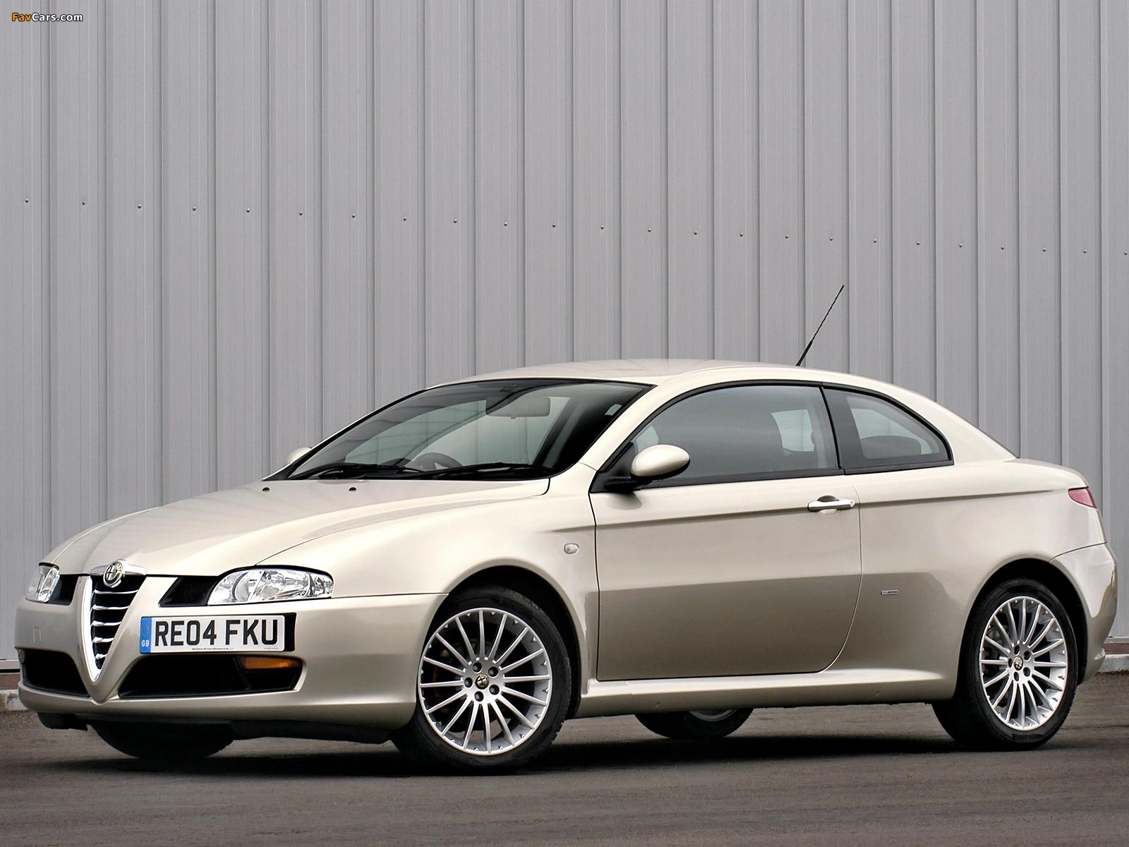 Alfa Romeo GT UK-spec 937 (2004–2010) images (1600 x 1200)