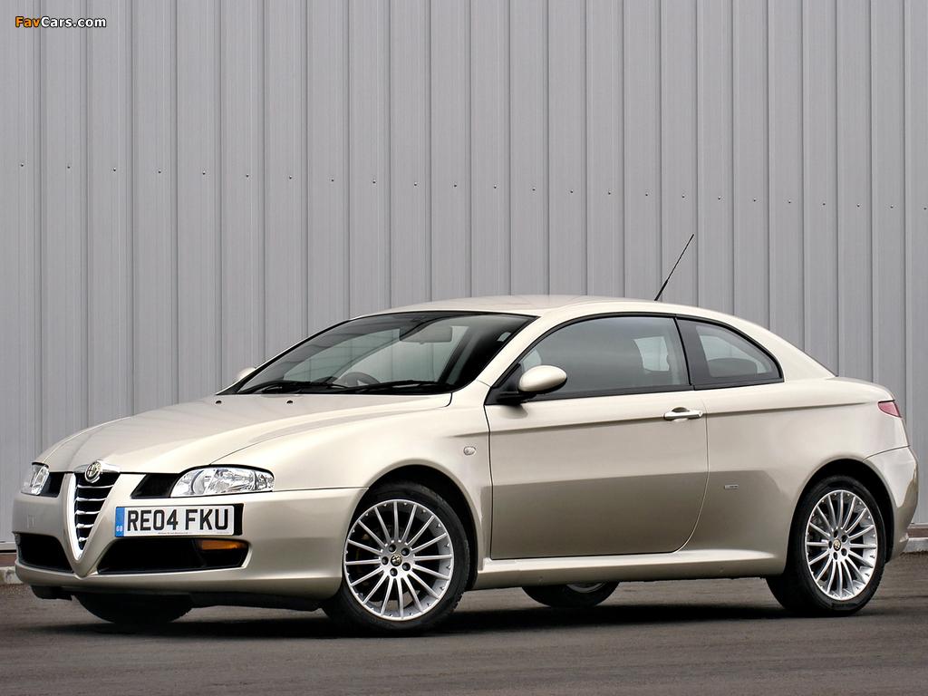 Alfa Romeo GT UK-spec 937 (2004–2010) images (1024 x 768)