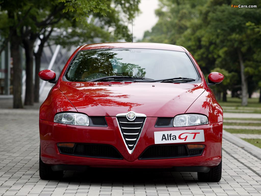 Alfa Romeo GT JP-spec 937 (2004–2010) wallpapers (1024 x 768)